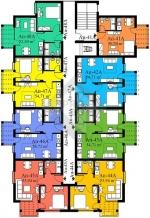 Block A. 5 floor