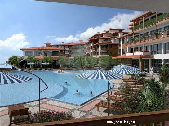 luxury complex in Sveti Vlas The Hill Club.