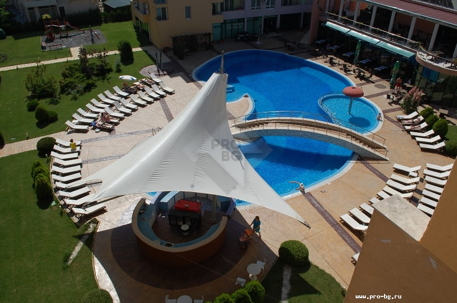 One bedroom apartment in Sunny Beach - resale property in Bulgaria near the sea
