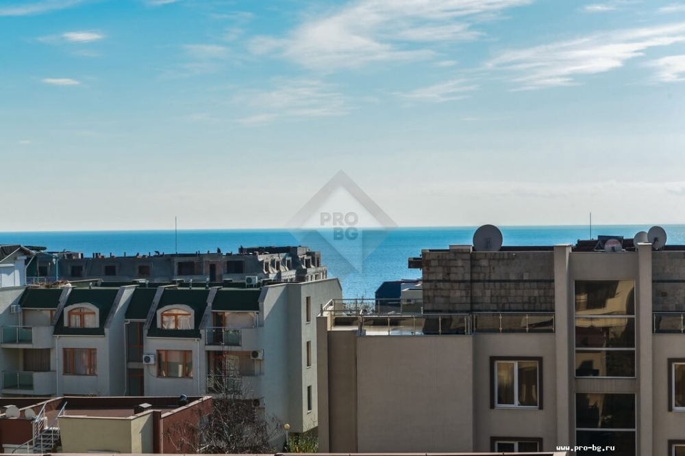 Property resales in Bulgaria - an apartment with sea view
