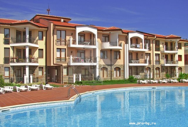 Preowned apartments in Bulgaria for sale - a two bedroom apartment in Sunny Beach