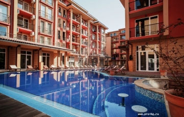 Apartment for sale in Sunny Beach - studio Sunny View Central cheap