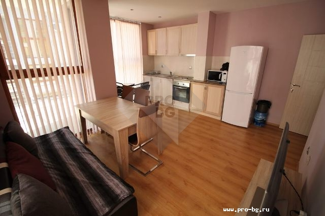 Apartment in Bulgaria for sale with two bedrooms and three balconies