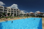 Front line apartment in St.Vlas in Dimond complex