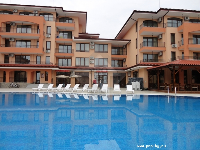 Apartments near the beach in Sunny Beach resort